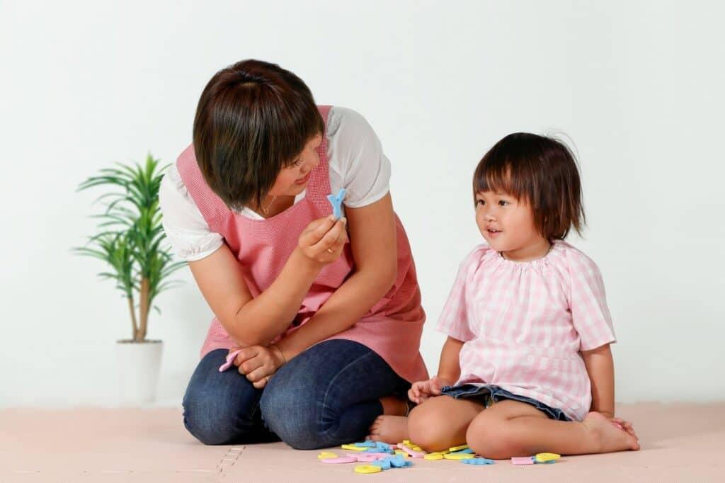 乳児院ではさまざまな資格をもつスタッフがサポート