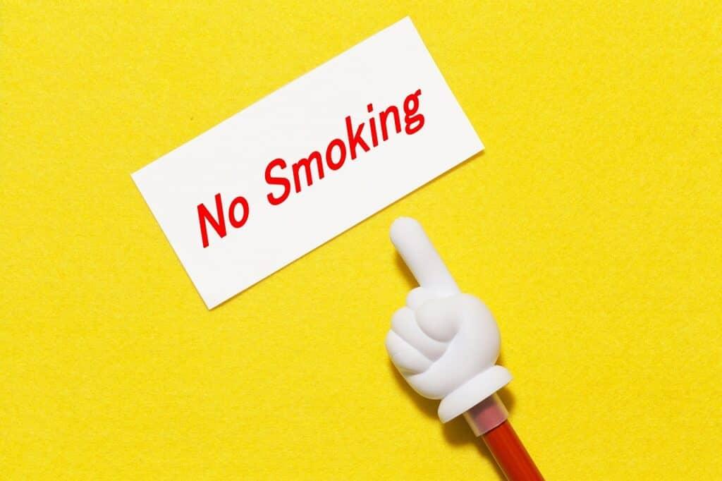 タバコや過度なアルコール・カフェイン摂取は控える