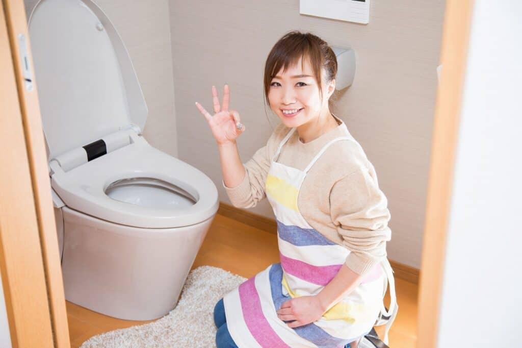 トイレ掃除を簡単に済ませる方法