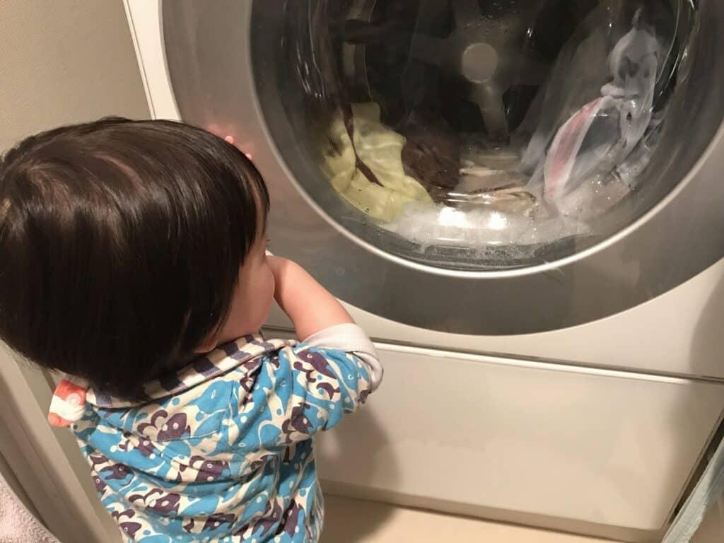 ネットに入れて洗濯する