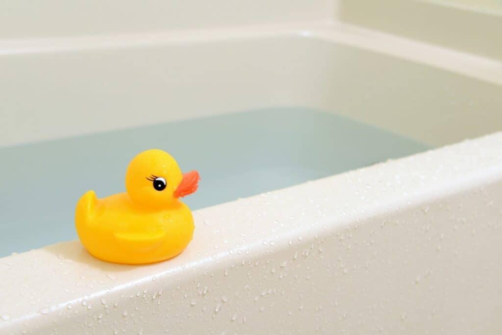 お風呂の残り湯を使わない