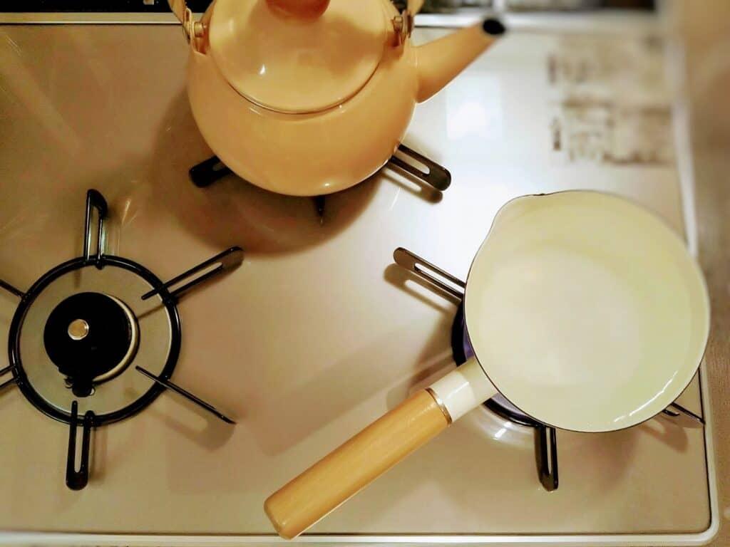 水道水で粉ミルク用のお湯を作る方法