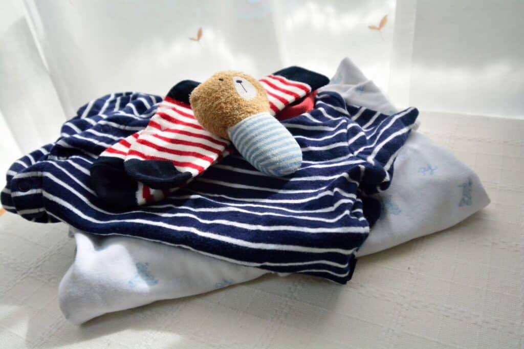 赤ちゃんに優しい素材を選ぶ