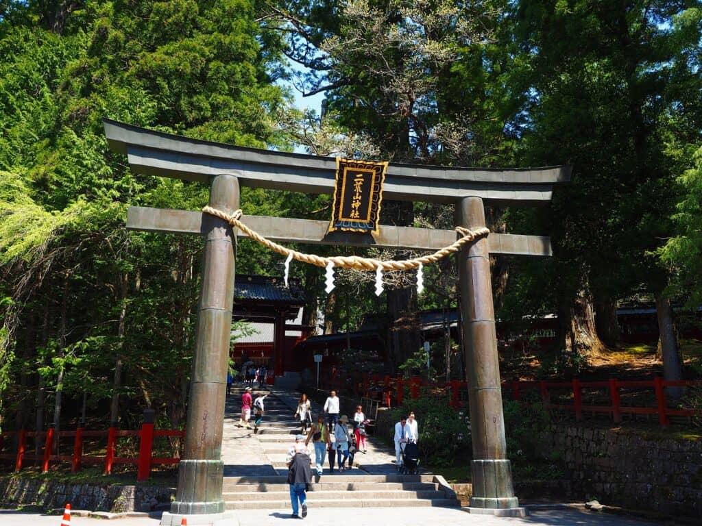 栃木1位・日光二荒山(ふたらさん)神社、滝尾神社