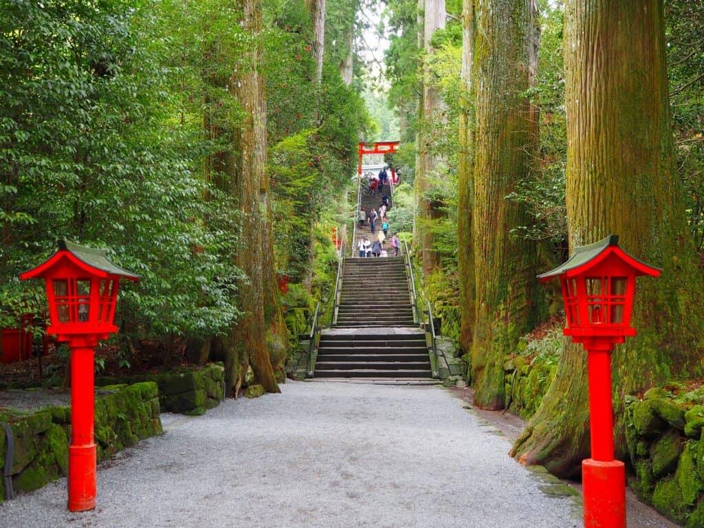 神奈川3位・箱根神社