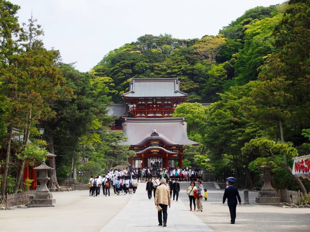 神奈川2位・鶴岡八幡宮