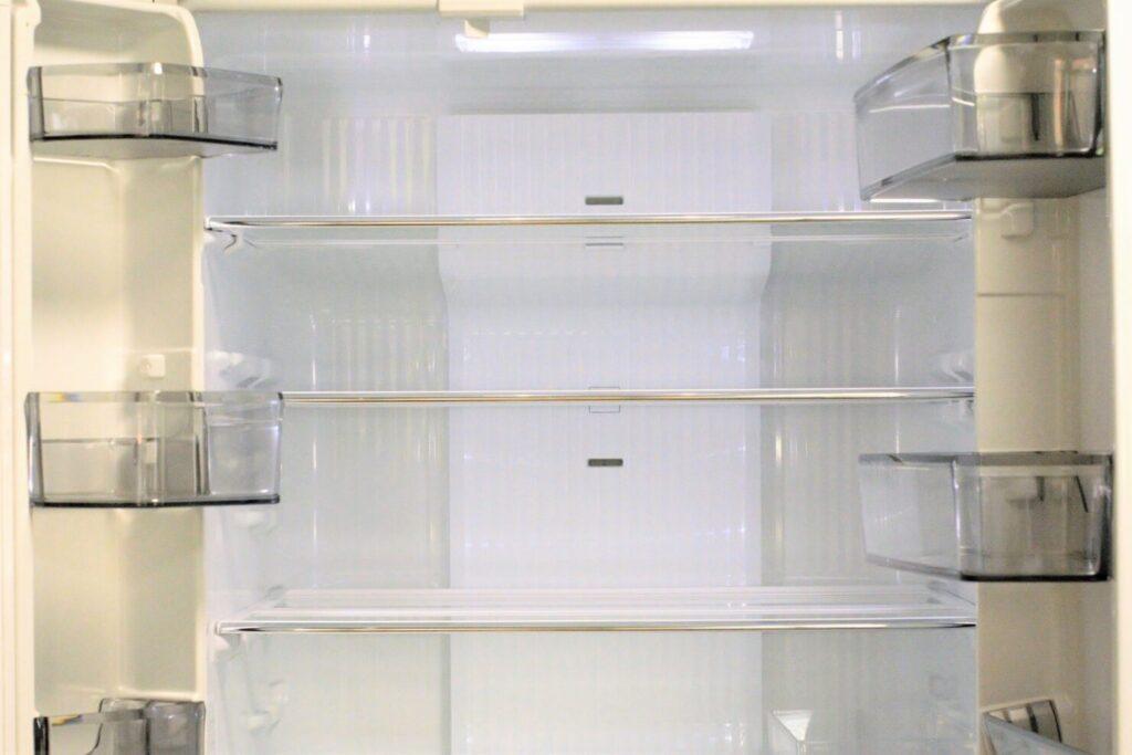 冷蔵庫掃除を始める前に