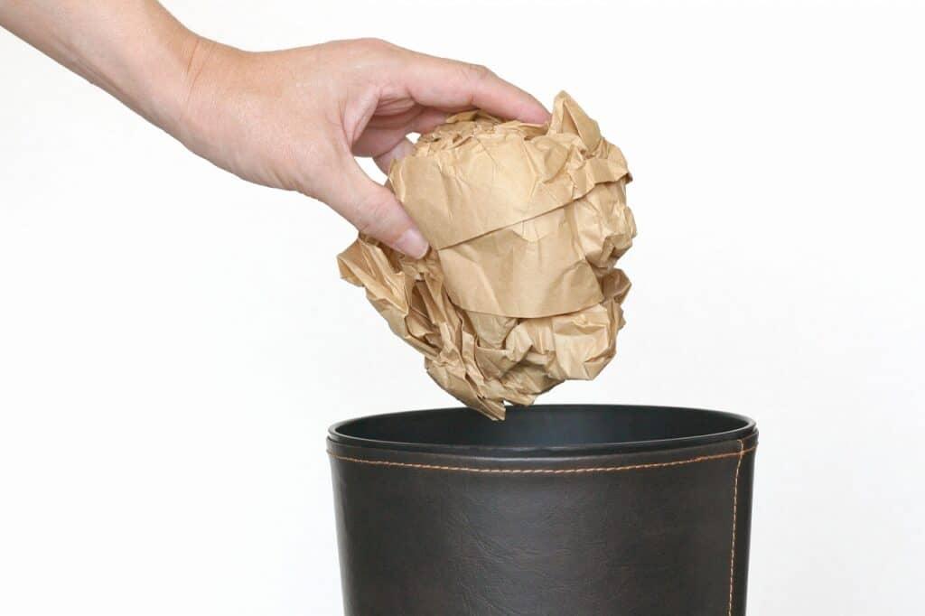 ごみの捨て方を工夫する