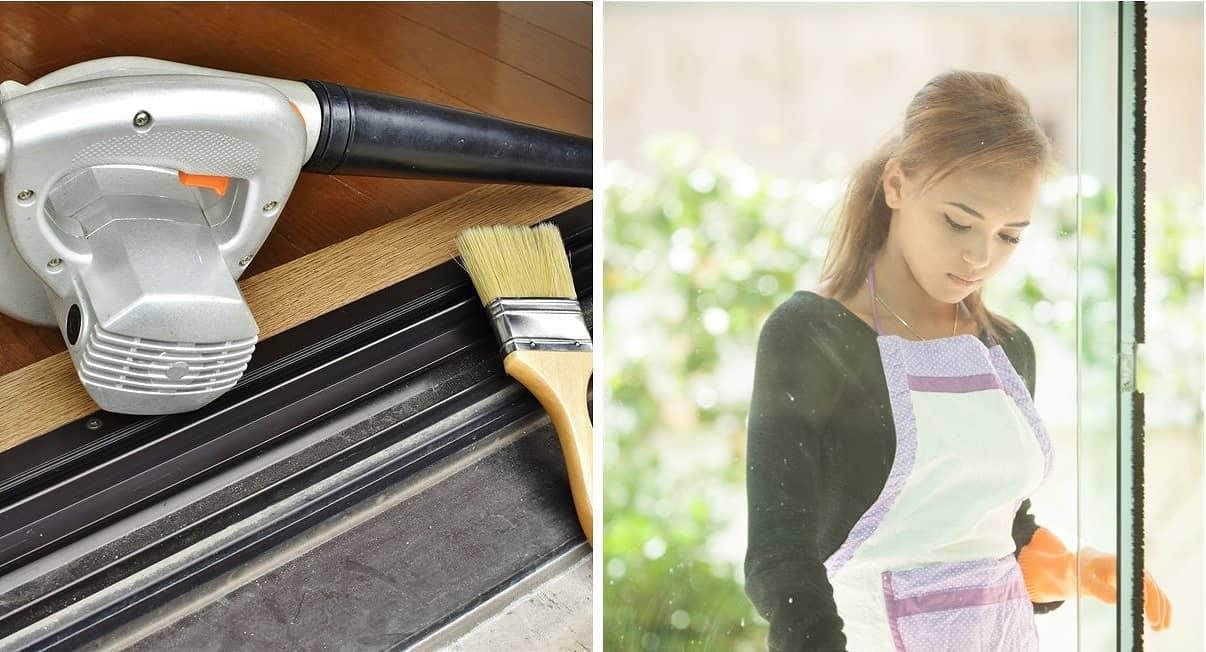 窓のサッシってどうやって掃除したらいいの? おすすめ掃除グッズと簡単にお掃除する方法