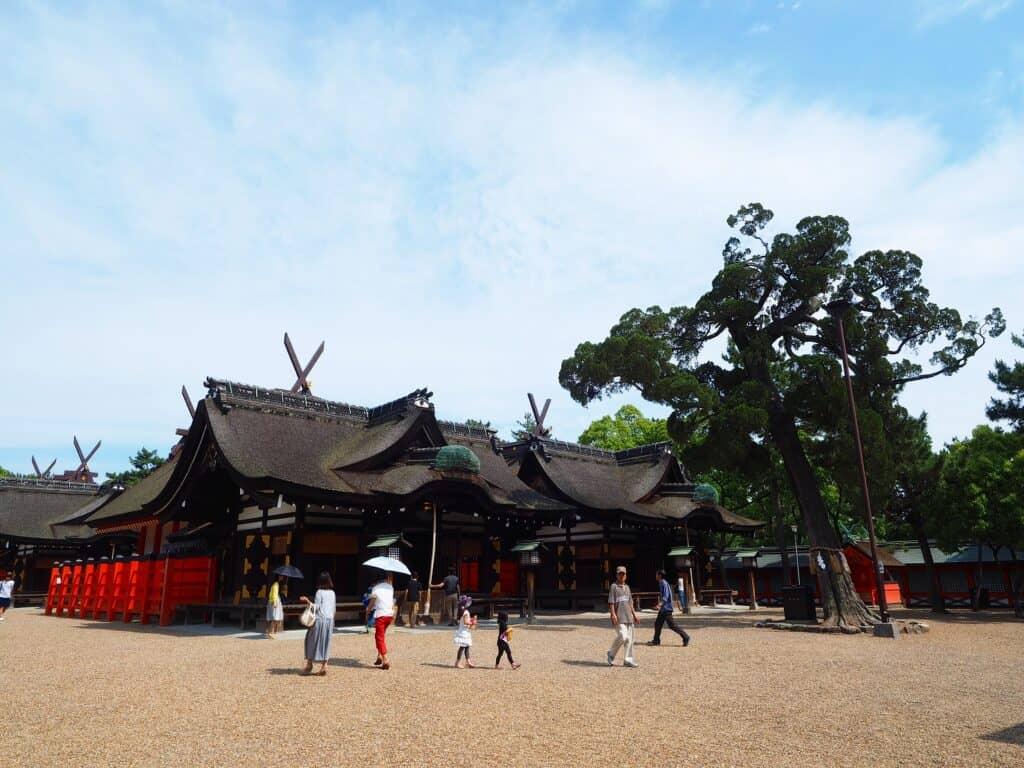 大阪での有名な子宝神社といえば「住吉大社」
