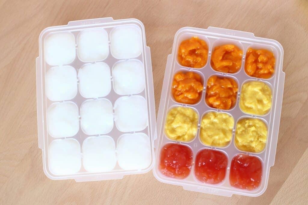 キューピーベビーフードは冷凍で保存も可能