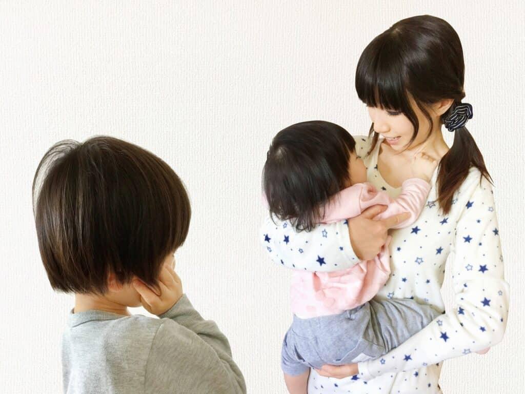 赤ちゃん返りの対応方法