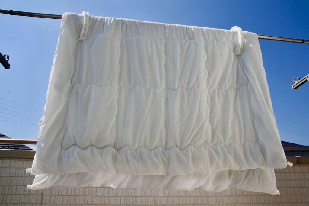 ハウスダスト対策⑥:布団など布製品を洗う
