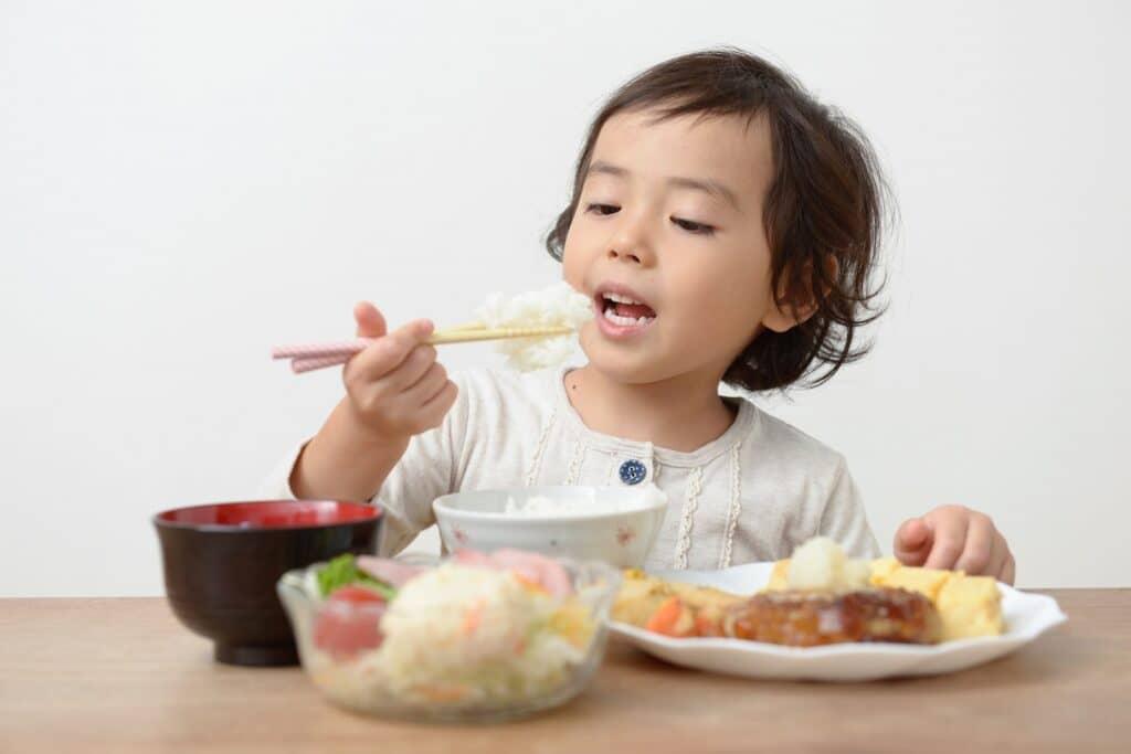 2歳児の食事量は?