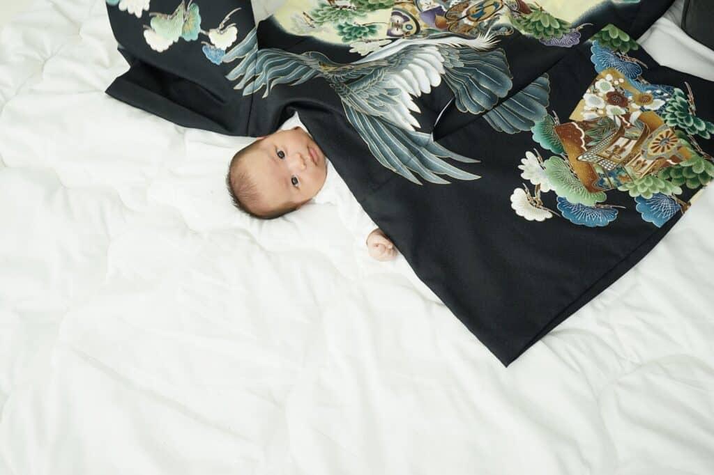 お宮参りの産着を七五三の着物に仕立てることもできる