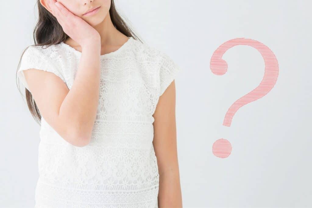 子供の爪を噛む癖はどんな時に出る?