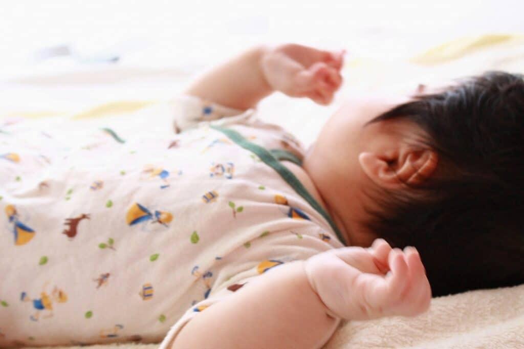 赤ちゃんが笑わない…問題はあるの?