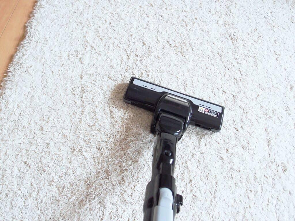 カーペット掃除の方法