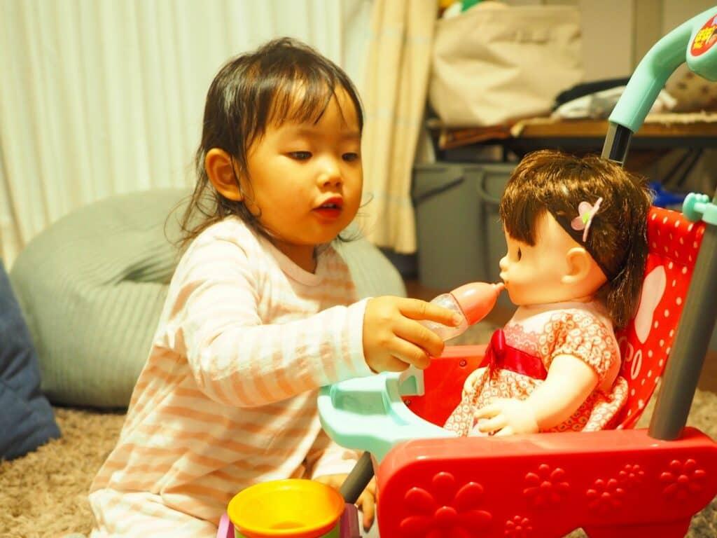 赤ちゃん人形はお世話遊び好きな子におすすめ