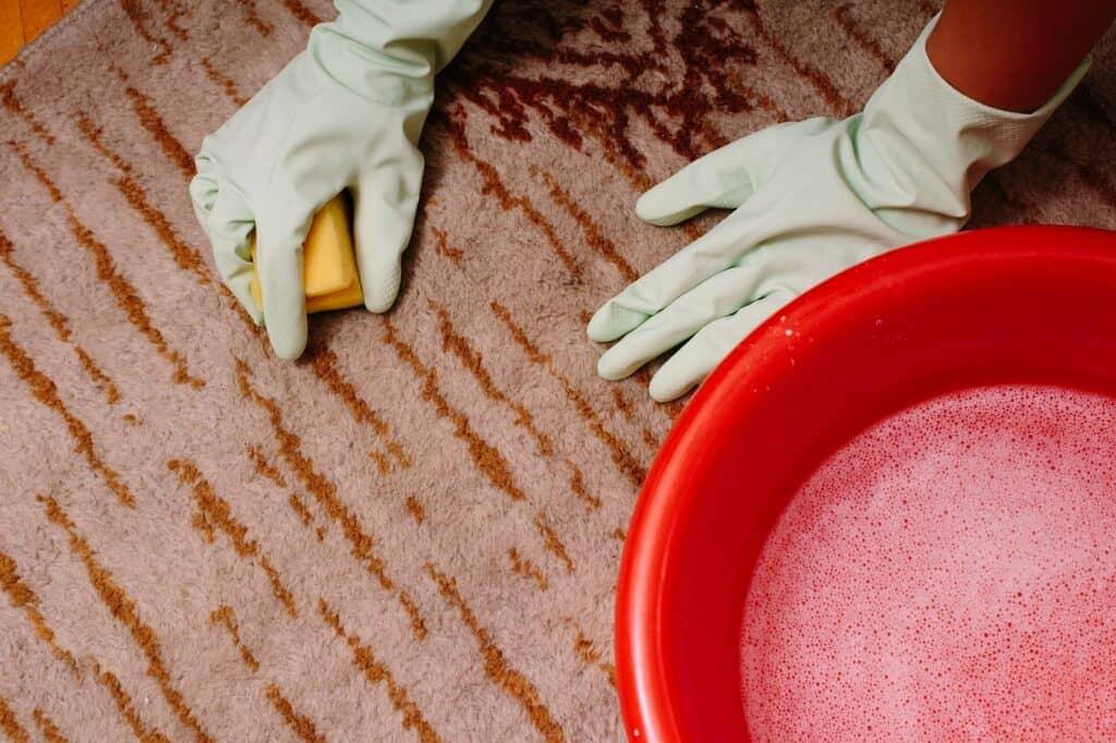 カーペットについた汚れの対処法