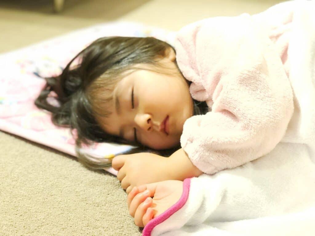 寝冷え防止