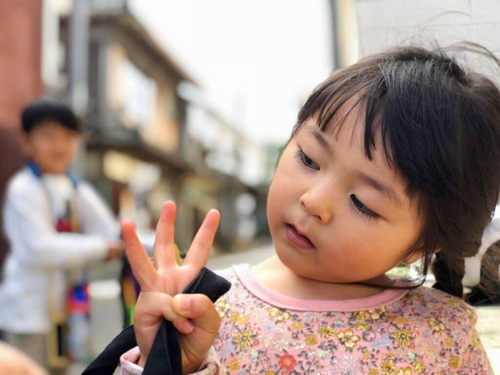 3歳女の子の被布の選び方