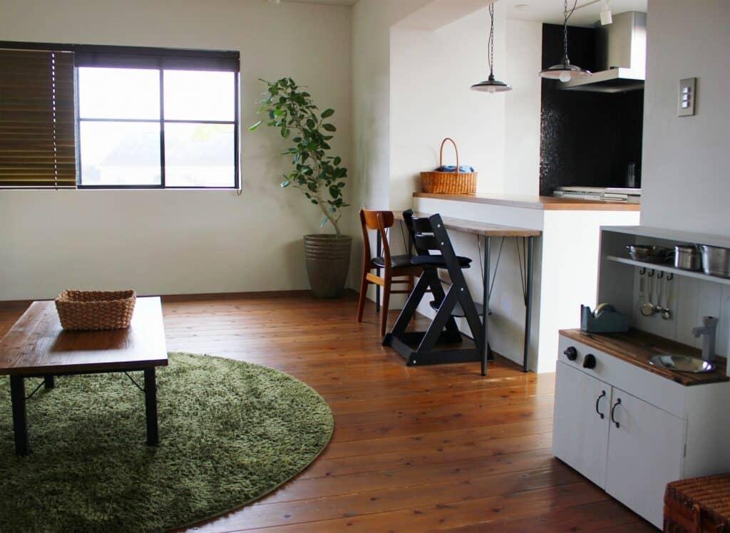 重曹を掃除に使える場所3:リビングなどの部屋