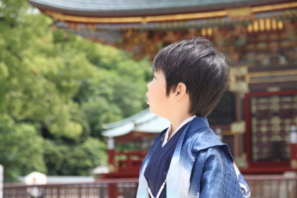 3歳男の子の七五三着物(被布・羽織袴)の選び方