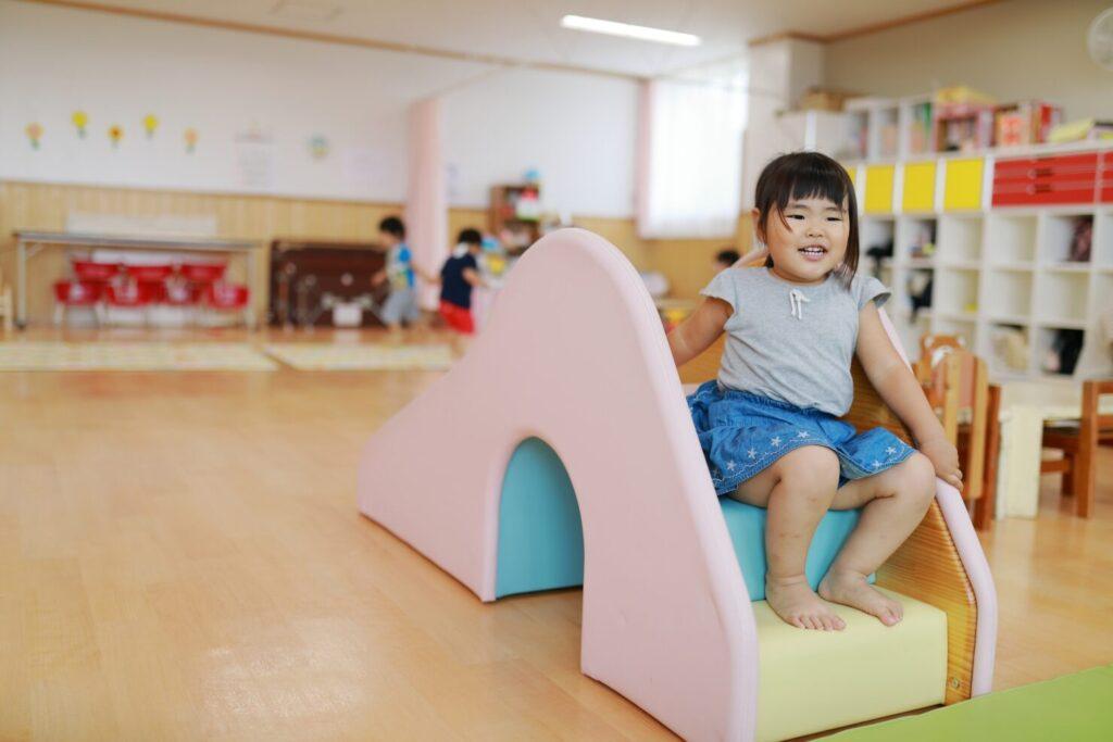 保育園や幼稚園におもちゃを寄付する