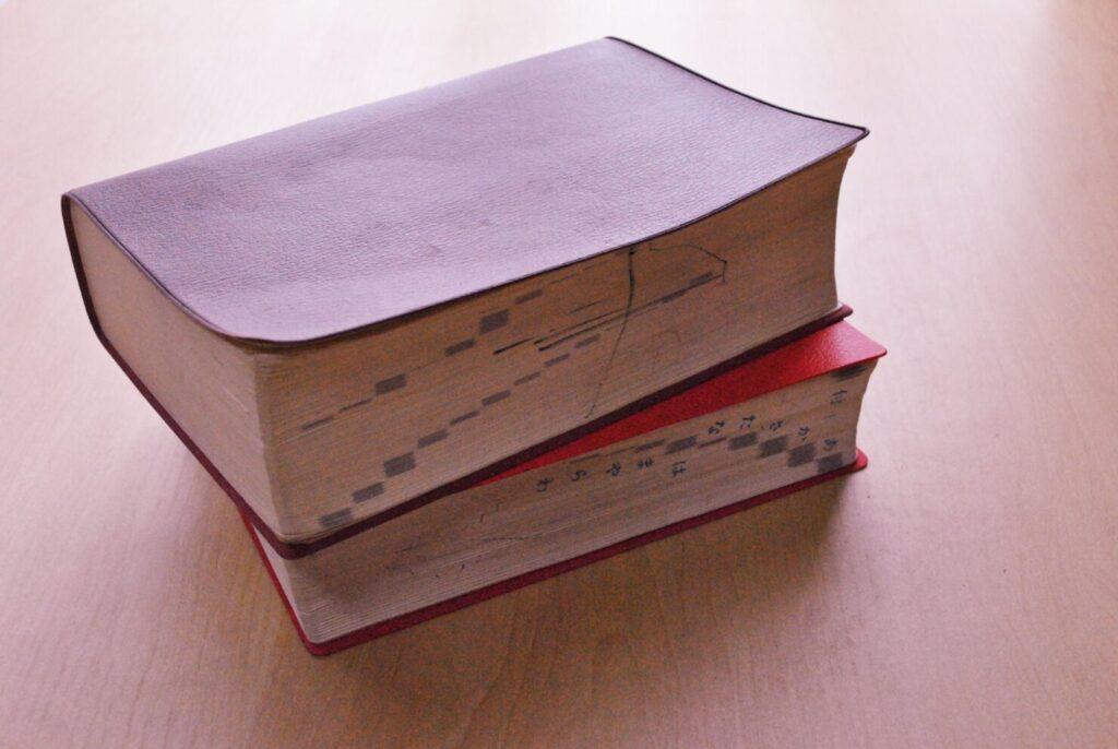 国語辞典の収録語数