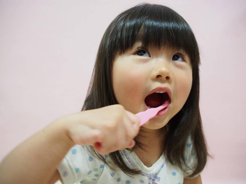3歳児の歯の生え具合