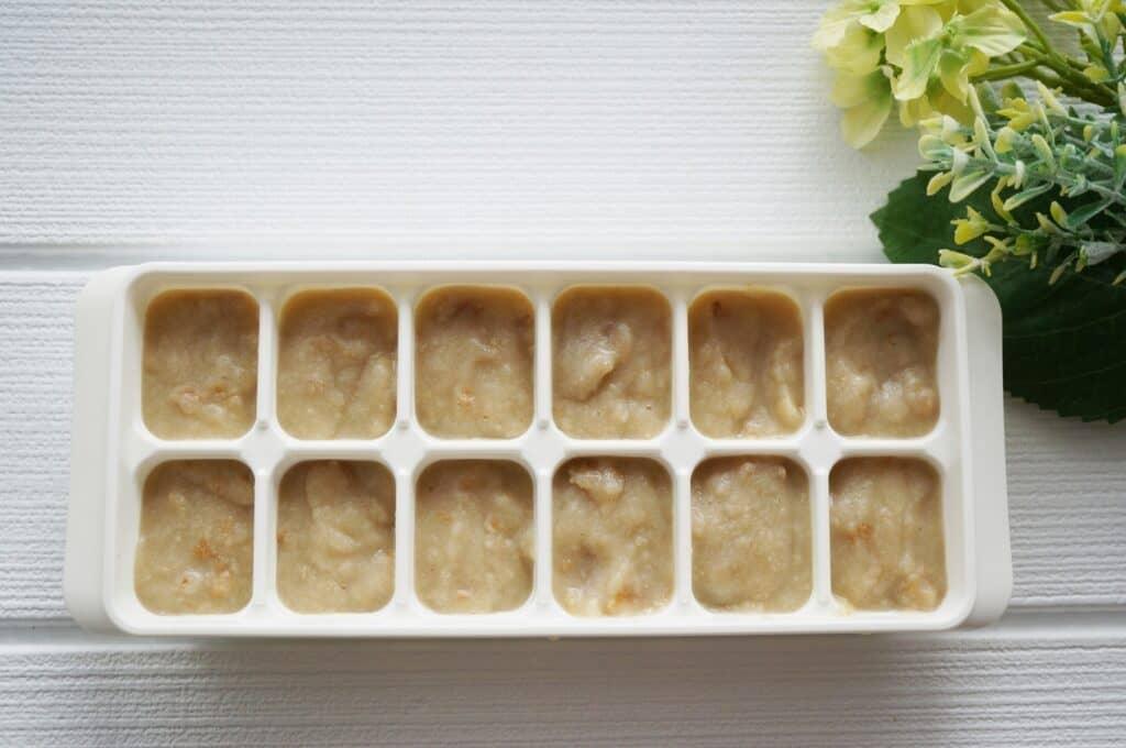 おすすめの冷凍保存方法2:バナナペーストを冷凍