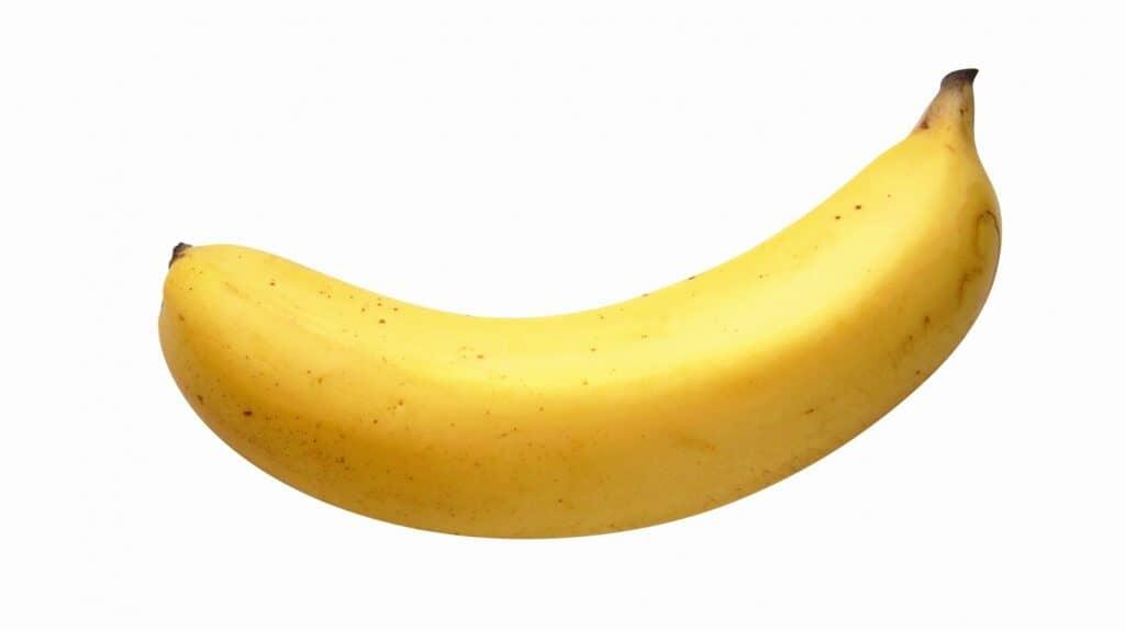 房や茎、バナナの形や色で見極める