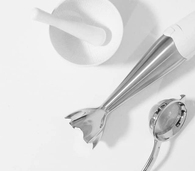 茶こし・ザル・すり鉢・ブレンダーなど代用品を使ってもOK