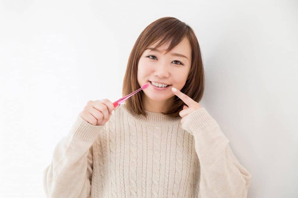 妊娠中の味覚が変わる対策⑥:歯磨きをする
