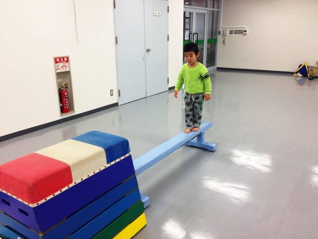 子供の体操教室の種類:体操教室