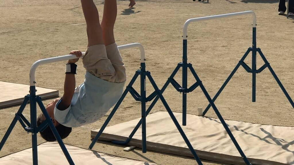 子供の体操教室の種類:器械体操