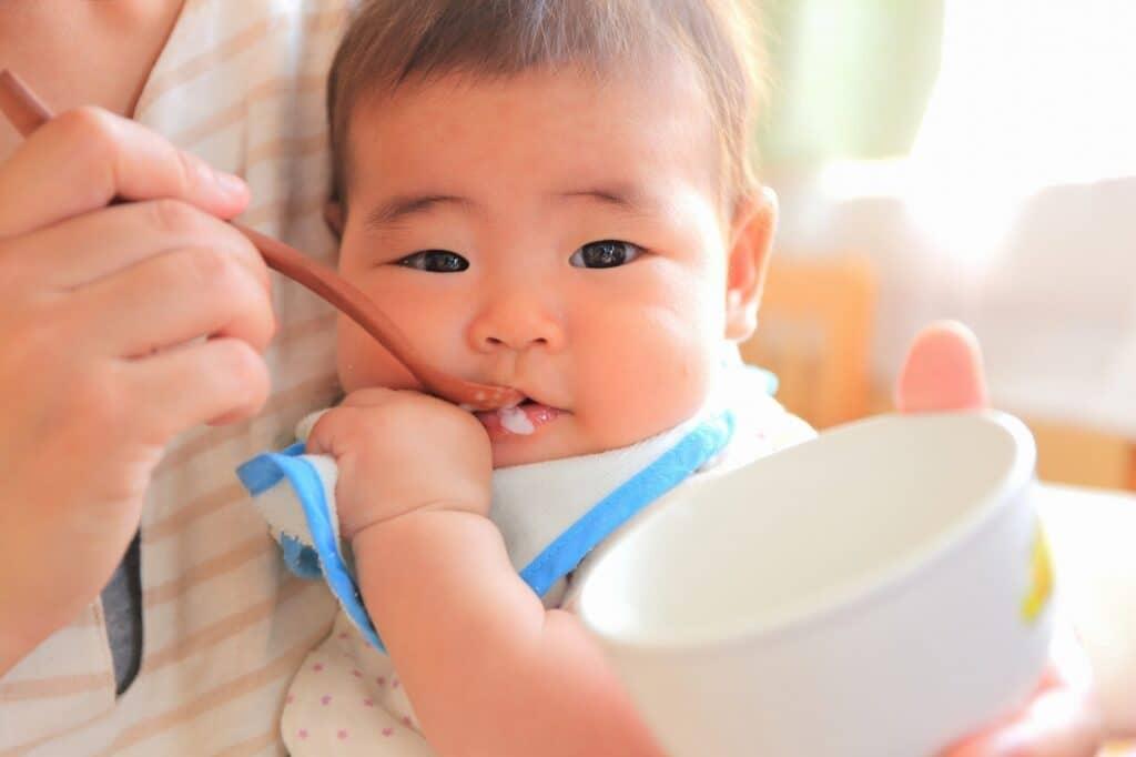 生後7ヶ月の離乳食 1回の目安量は?