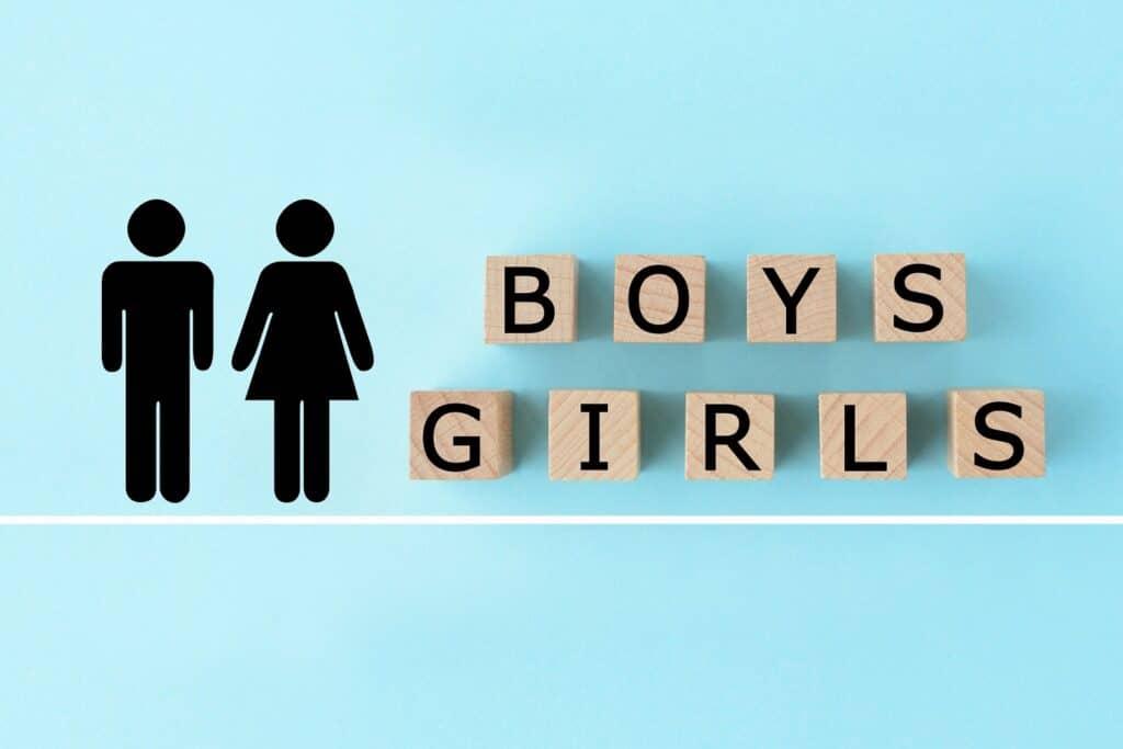 精子のX染色体とY染色体の違い