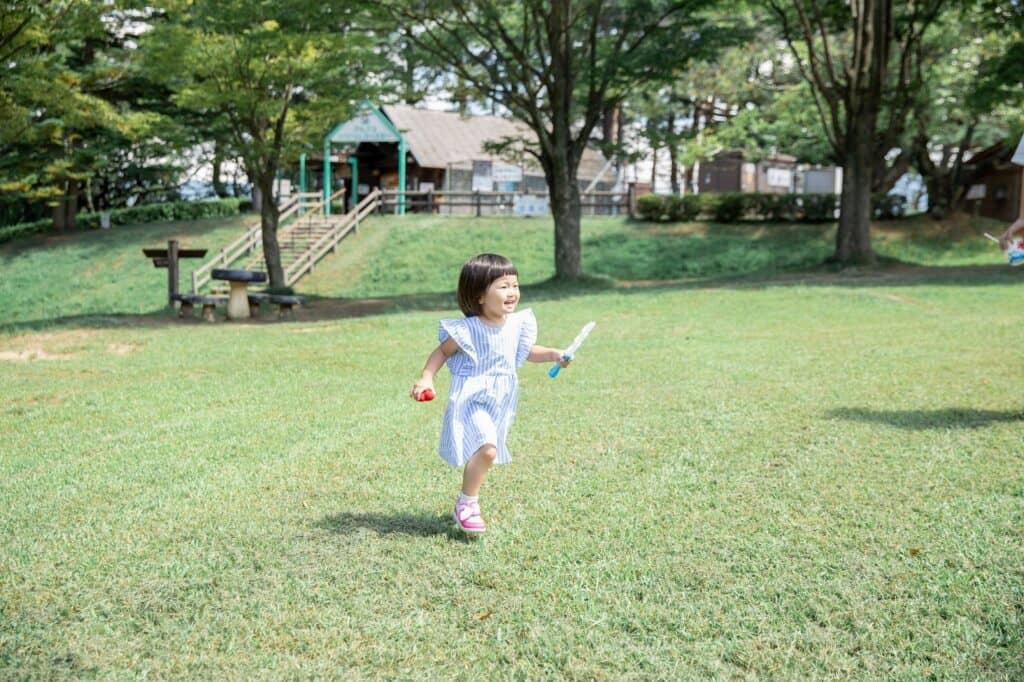 3歳児の運動能力の成長