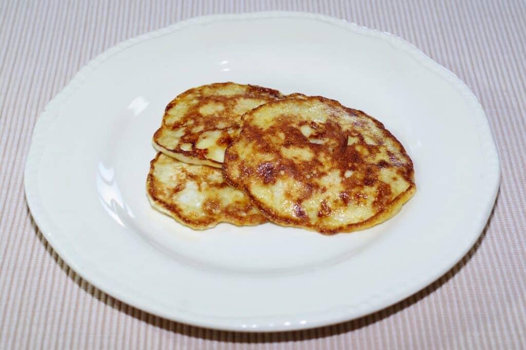 離乳食後期におすすめ5:バナナのもちもちパンケーキ