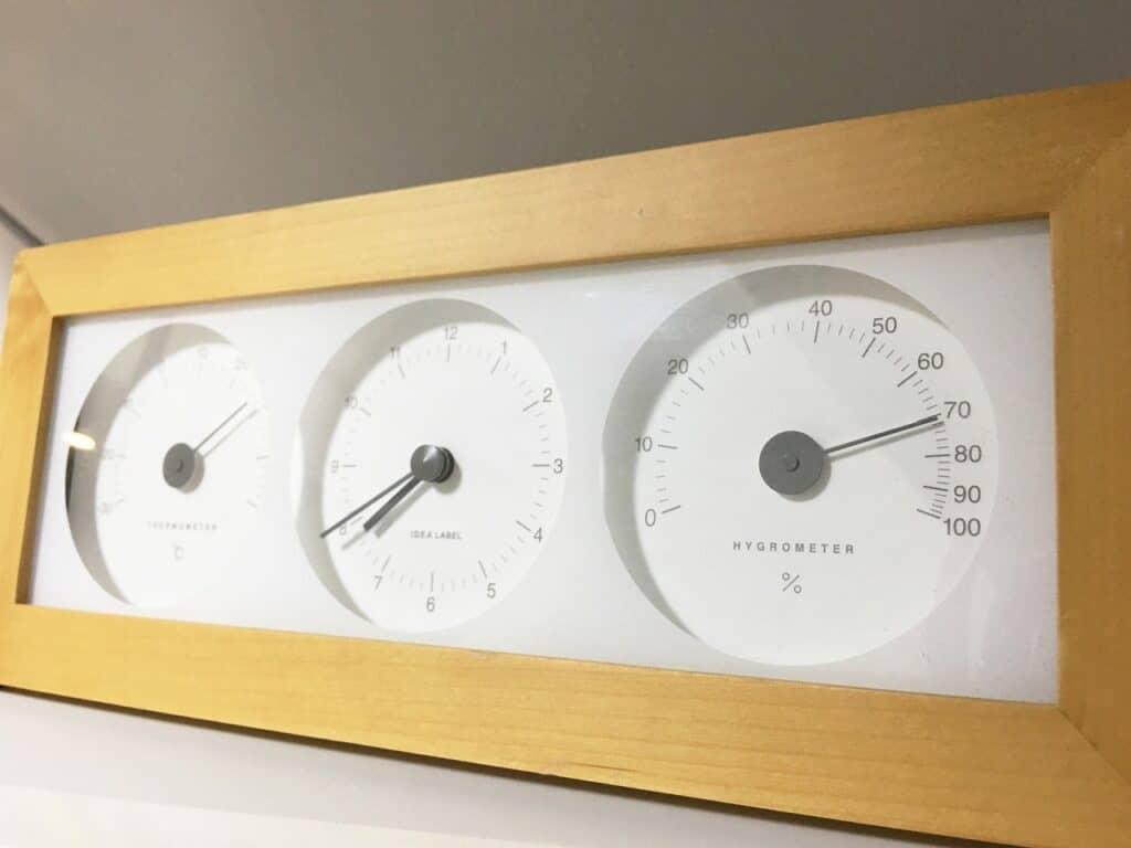 赤ちゃんの部屋の温度と湿度は?