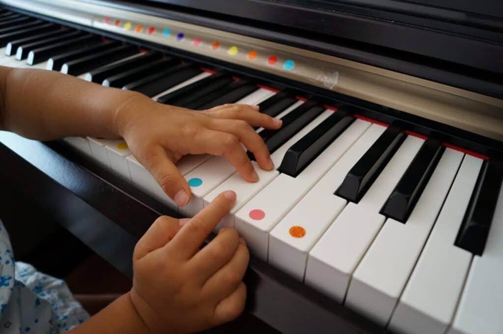 ピアノはリズム感が育つ