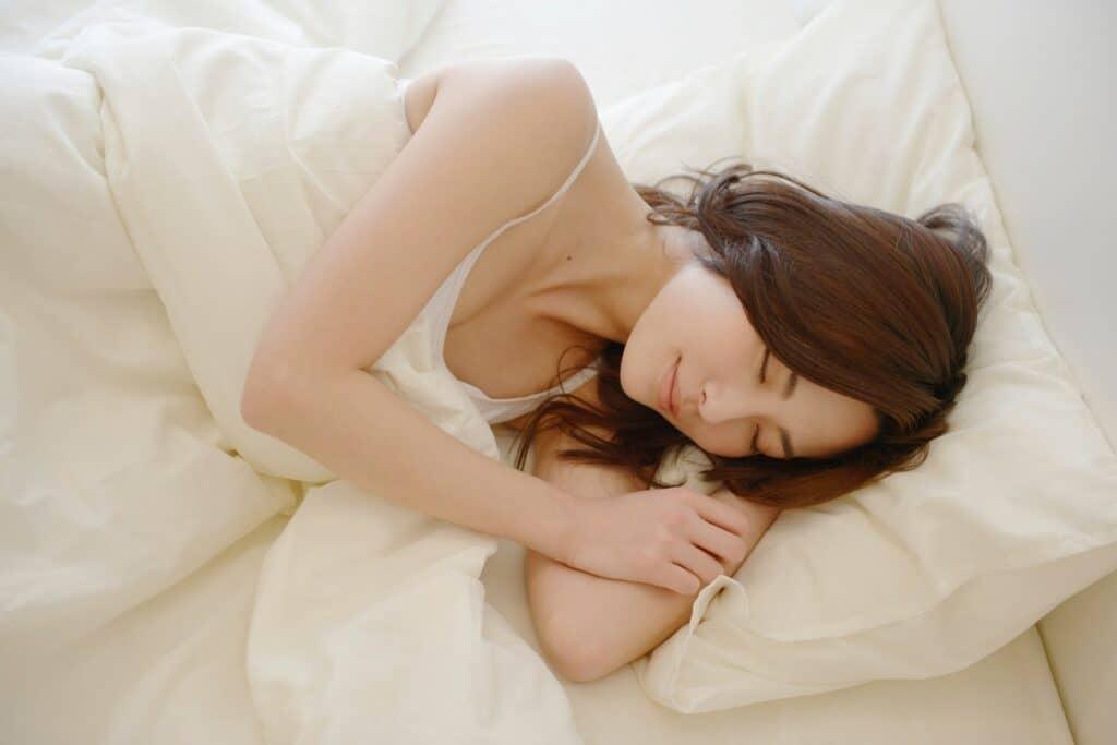 深い睡眠を意識する