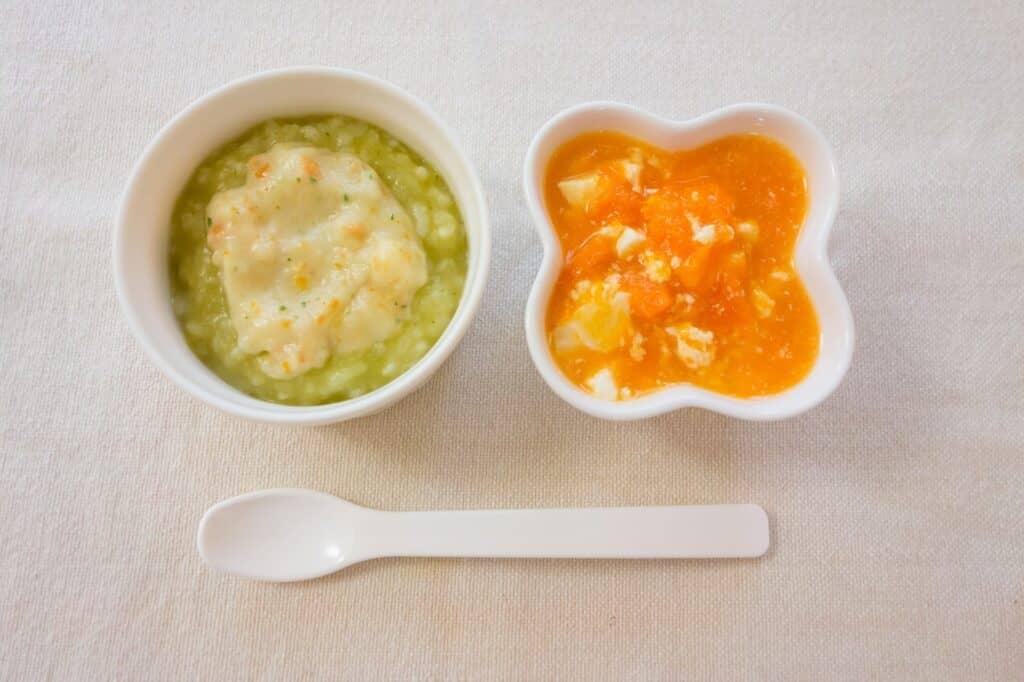 和光堂の離乳食:レトルトパウチ