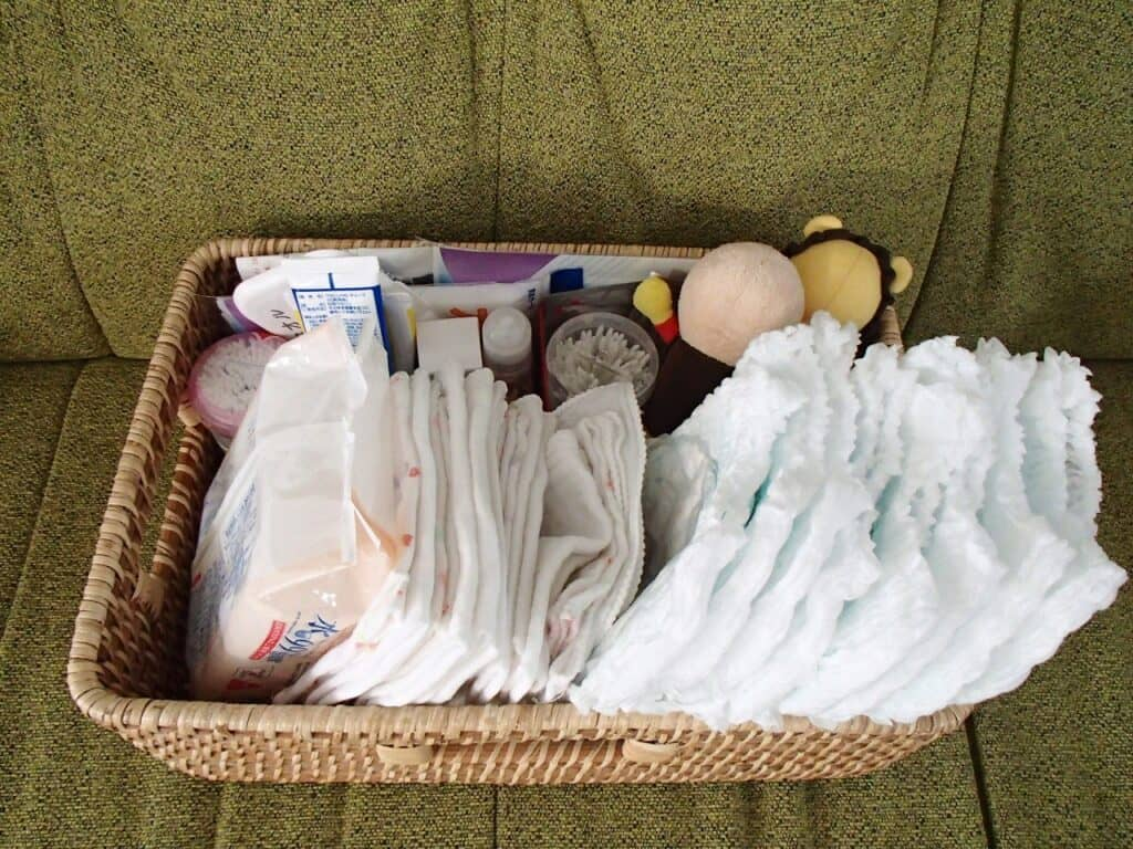 赤ちゃんの部屋づくり:収納