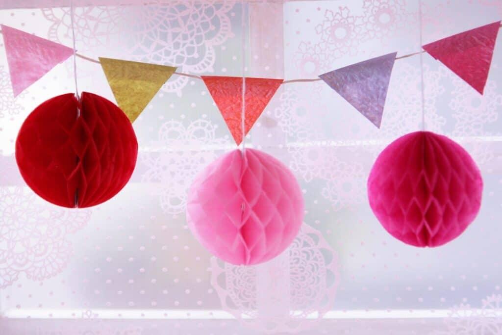 1歳の誕生日の飾り付けポイント②:空間を上手に活用