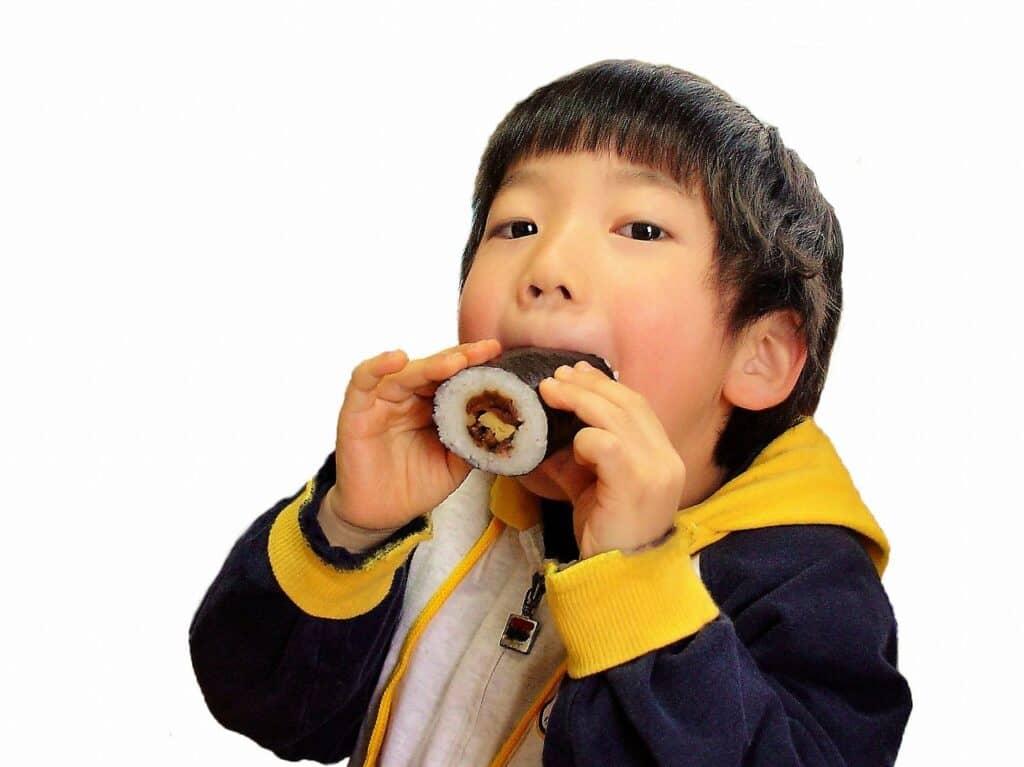 節分レシピ:子供向け恵方巻き(巻き寿司)3選
