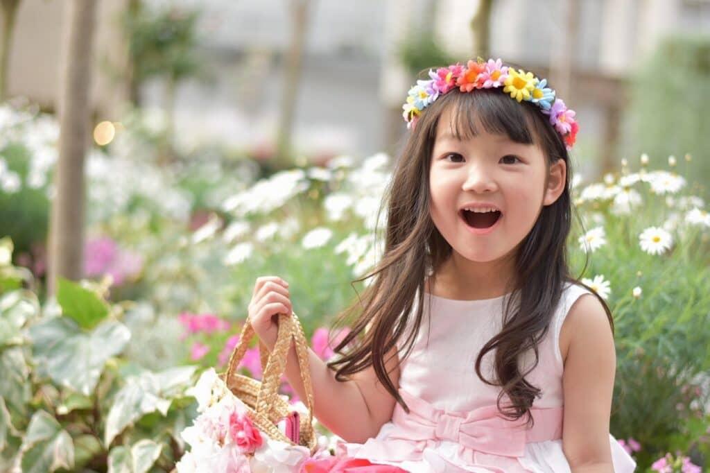 植物・自然をイメージする女の子の名前が人気!