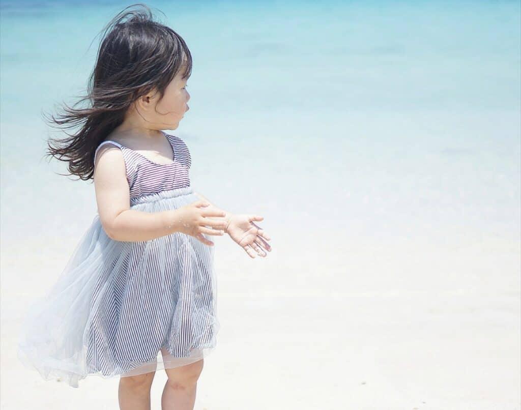 海をイメージする女の子の名前
